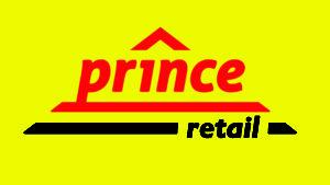 prince retail logo - yellow bg